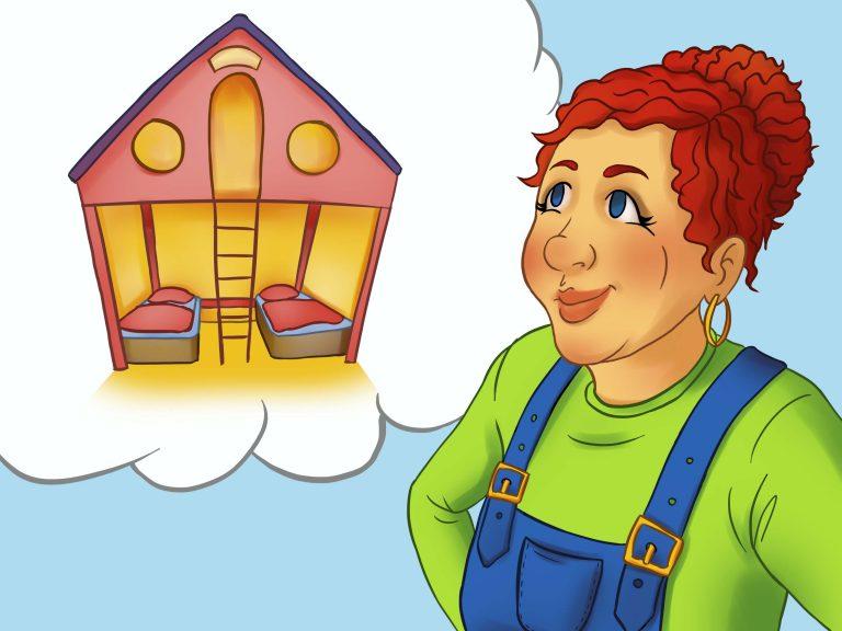 Tante Traudls Baumhaus-Bett